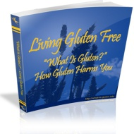 Ebook cover: Living Gluten Free