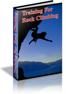 Ebook cover: Training for Rock Climbing