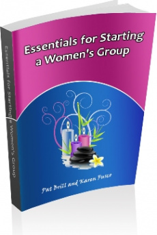 Ebook cover: Essentials for Starting a Women's Group