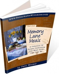 Ebook cover: Memory Lane Meals