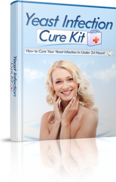 Ebook cover: Yeast Infection Cure Kit