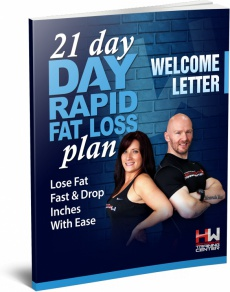 Ebook cover: 21 Day Rapid Fat Loss Plan