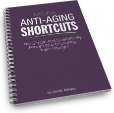 Ebook cover: Natural Anti-Aging Shortcuts