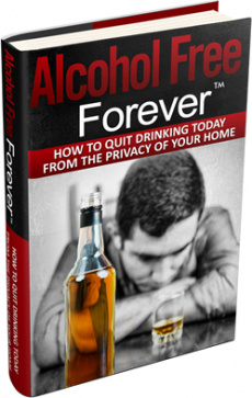Ebook cover: Alcohol Free Forever