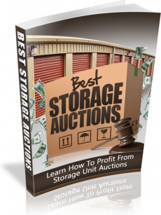 Ebook cover: How To Win Big at Storage Auctions