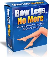 Ebook cover: Bow Legs No More
