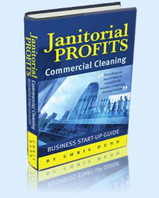 Ebook cover: Janitorial Profits