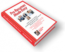 Ebook cover: Pro Resumes Made Easy
