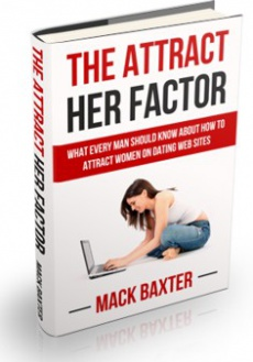 Ebook cover: The Attract Her Factor