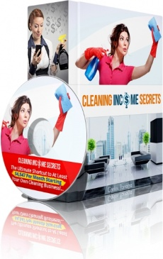 Ebook cover: Cleaning Business Secrets