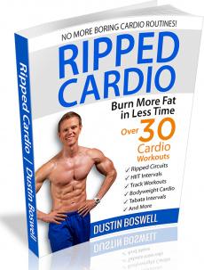 Ebook cover: Ripped Cardio