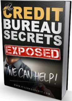 Ebook cover: Credit Bureau Secrets