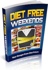 Ebook cover: Diet Free Weekends