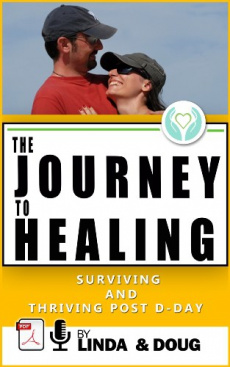 Ebook cover: Journey to Healing: Surviving and Thriving Post D-day
