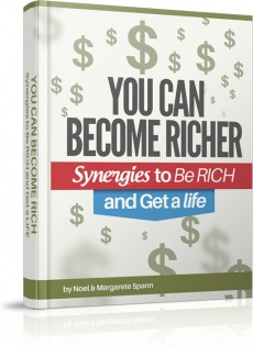 Ebook cover: Synergies to Get RICH and Get a LIFE