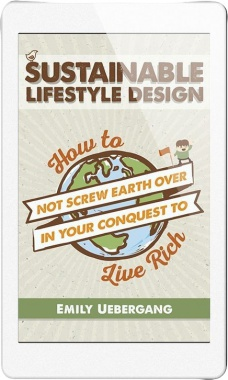 Ebook cover: Sustainable Lifestyle Design
