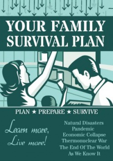 Ebook cover: Your Family Survival Plan