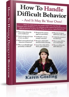 Ebook cover: How To Handle Difficult Behavior