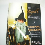 Ebook cover: The Wizard's Outrageous Scheme For Stopping Smoking
