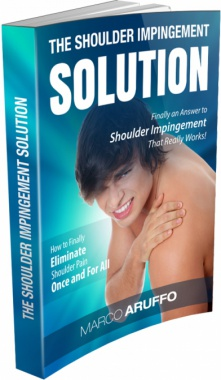 Ebook cover: The Shoulder Impingement Solution