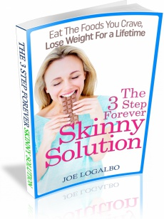 Ebook cover: 3 Step Forever Skinny Solution