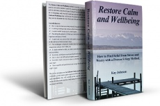 Ebook cover: Restore Calm and Wellbeing