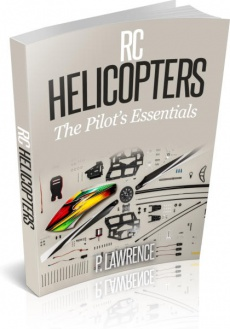 Ebook cover: RC Helicopters