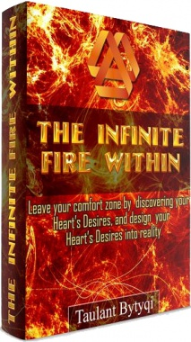 Ebook cover: The Infinite Fire Within