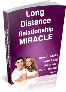 Ebook cover: Long Distance Relationship Miracle