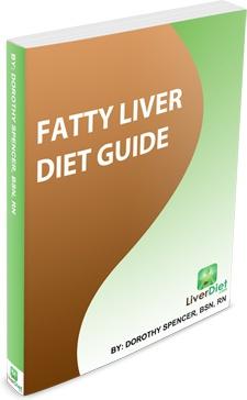 Ebook cover: Fatty Liver Diet Guide