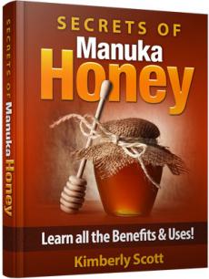 Ebook cover: Secrets of Manuka Honey