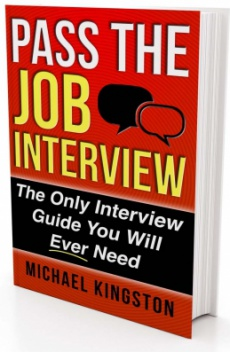 Ebook cover: Pass The Job Interview