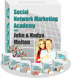 Ebook cover: Social Network Marketing Academy