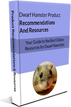 Ebook cover: The Ultimate Guide to Dwarf Hamsters
