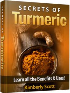 Ebook cover: Learn the Secrets of Turmeric!