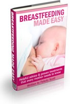 Ebook cover: Breastfeeding Made Easy