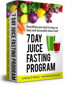 Ebook cover: 7 Day Juice Fasting Program