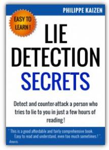 Ebook cover: Lie detection secrets