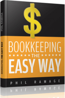 Ebook cover: Bookkeeping The Easy Way