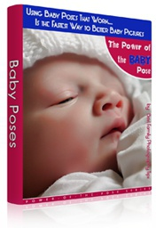 Ebook cover: Baby Poses: THE Easiest Way to Better Baby Pictures