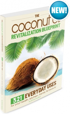 Ebook cover: The Coconut Oil Revitalization Blueprint