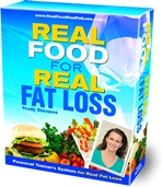 Ebook cover: Real Food for Real Fat Loss