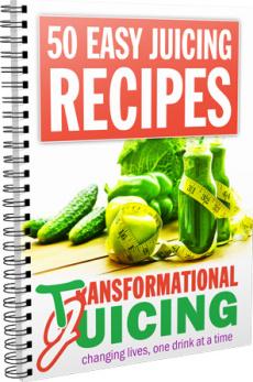 Ebook cover: 50 Easy Juicing Recipes