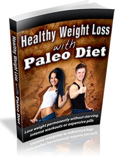 Ebook cover: Healthy Weight Loss With Paleo Diet