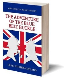 Ebook cover: The Adventure of the Blue Belt Buckle
