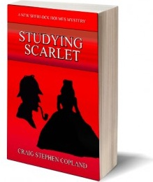 Ebook cover: Studying Scarlet