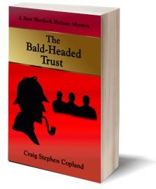 Ebook cover: The Bald-Headed Trust