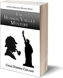 Ebook cover: The Hudson Valley Mystery