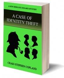 Ebook cover: A Case of identity Theft
