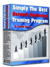 Ebook cover: Simply The Best Network Marketing Training Program